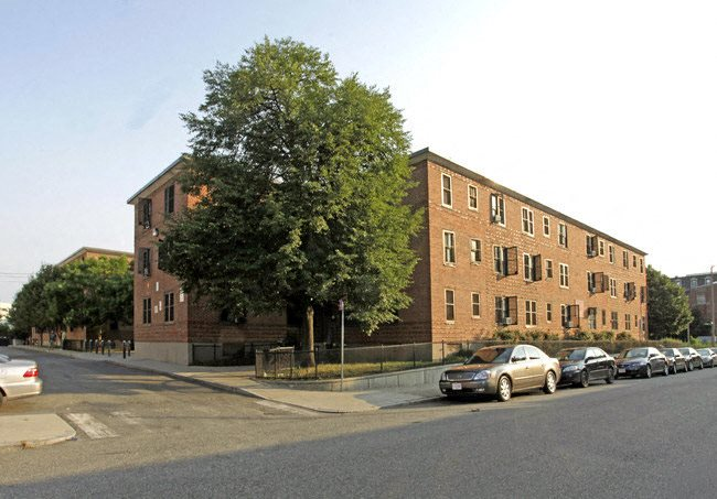 Affordable housing at Camden Street Apartments in Boston, MA