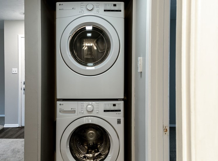 Washers and Dryers In Select Units