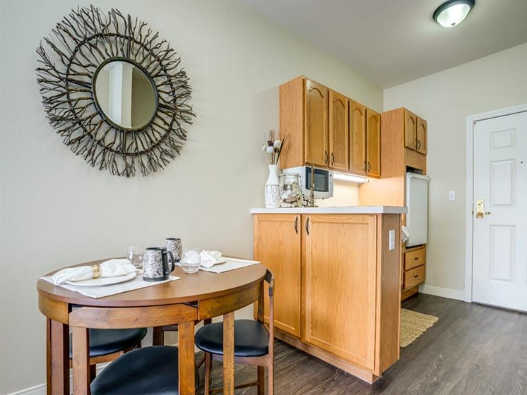 Dining Room and Kitchen View at Westmont of Fresno, Fresno, 93720