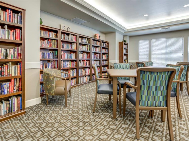 Library at Westmont of Fresno, California