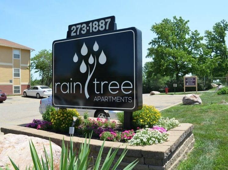 Raintree Property Sign