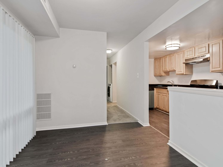 Small dining room attached to kitchen