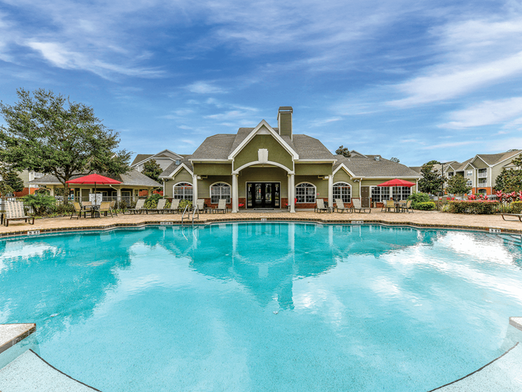 Refreshing Swimming Pool with Sun Ledge at The Finley, Jacksonville, FL  32210