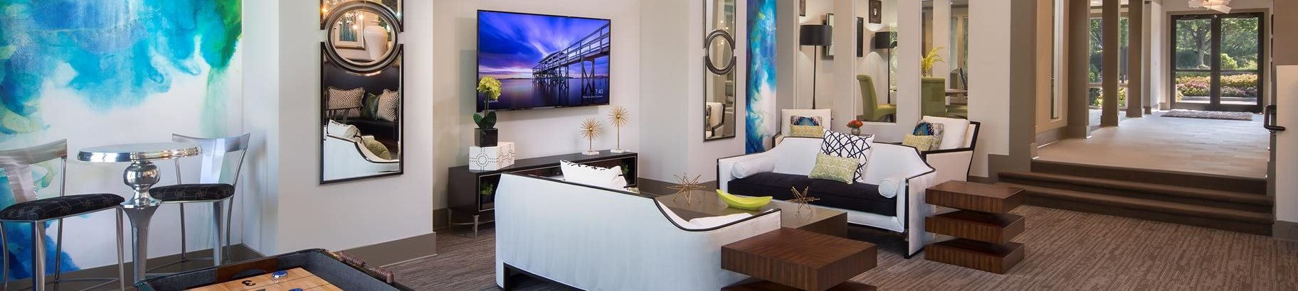 Beautifully Remodeled Clubhouse at The Metro Apartments, Georgia, 30339