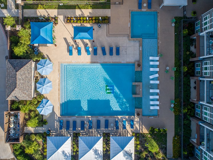 Two Swimming Pools