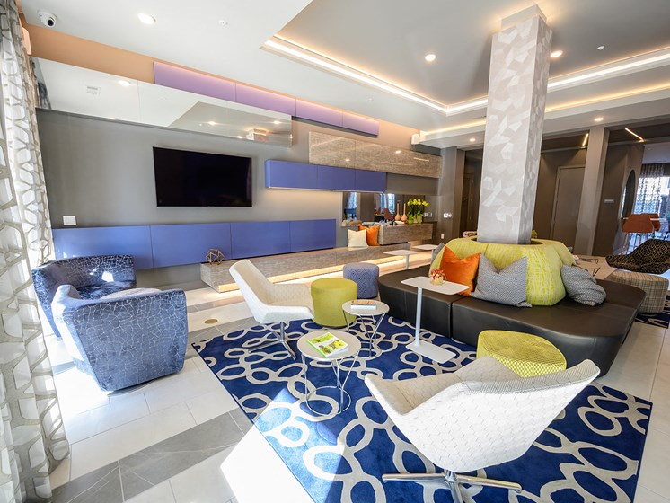 Plenty of Private Lounge Areas in the Clubhouse