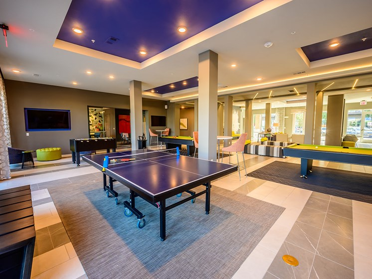 Ping Pong in This Stunning Room? Sure!