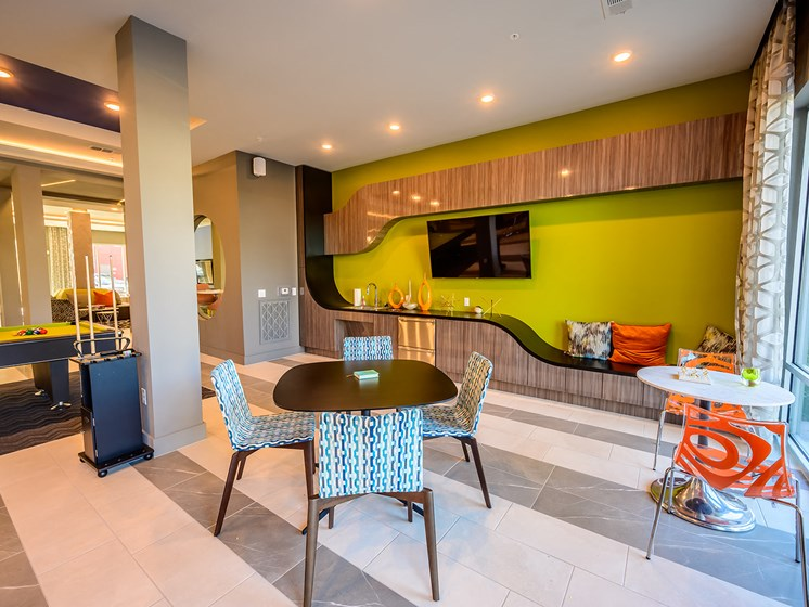 A Mixture of Textures, Shapes and Patterns Create a Relaxing and Exciting Space for Residents and Their Guests