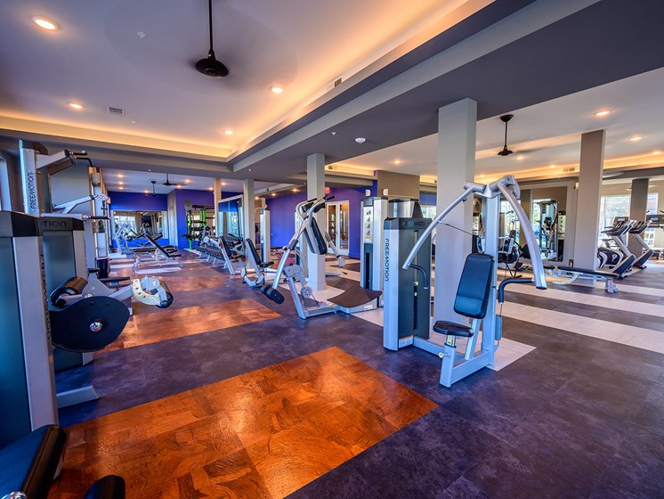 Plenty of Space in Our Brand New State-of-the-Art Fitness Center
