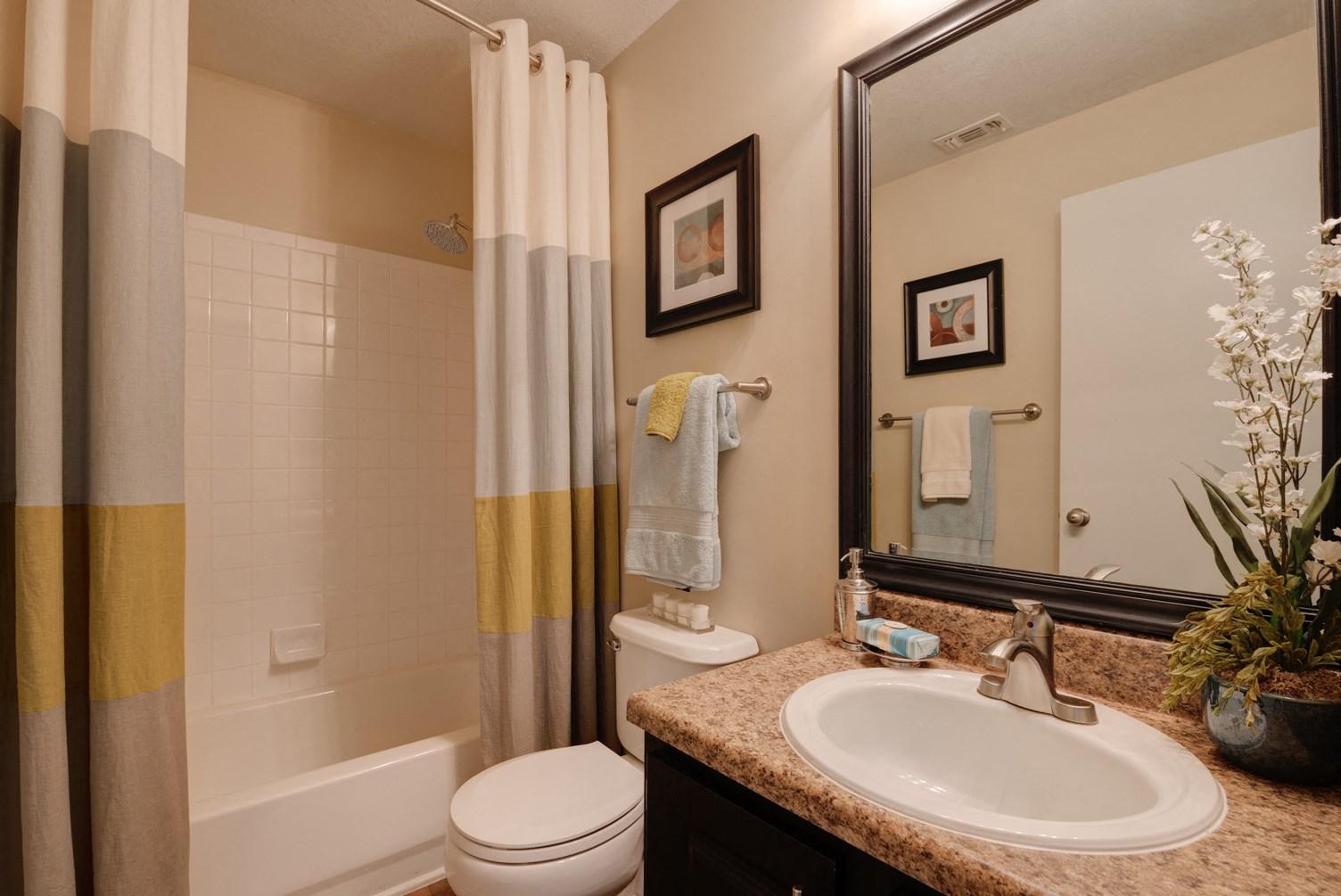 Bathroom at 150 Summit Apartments in Birmingham, AL