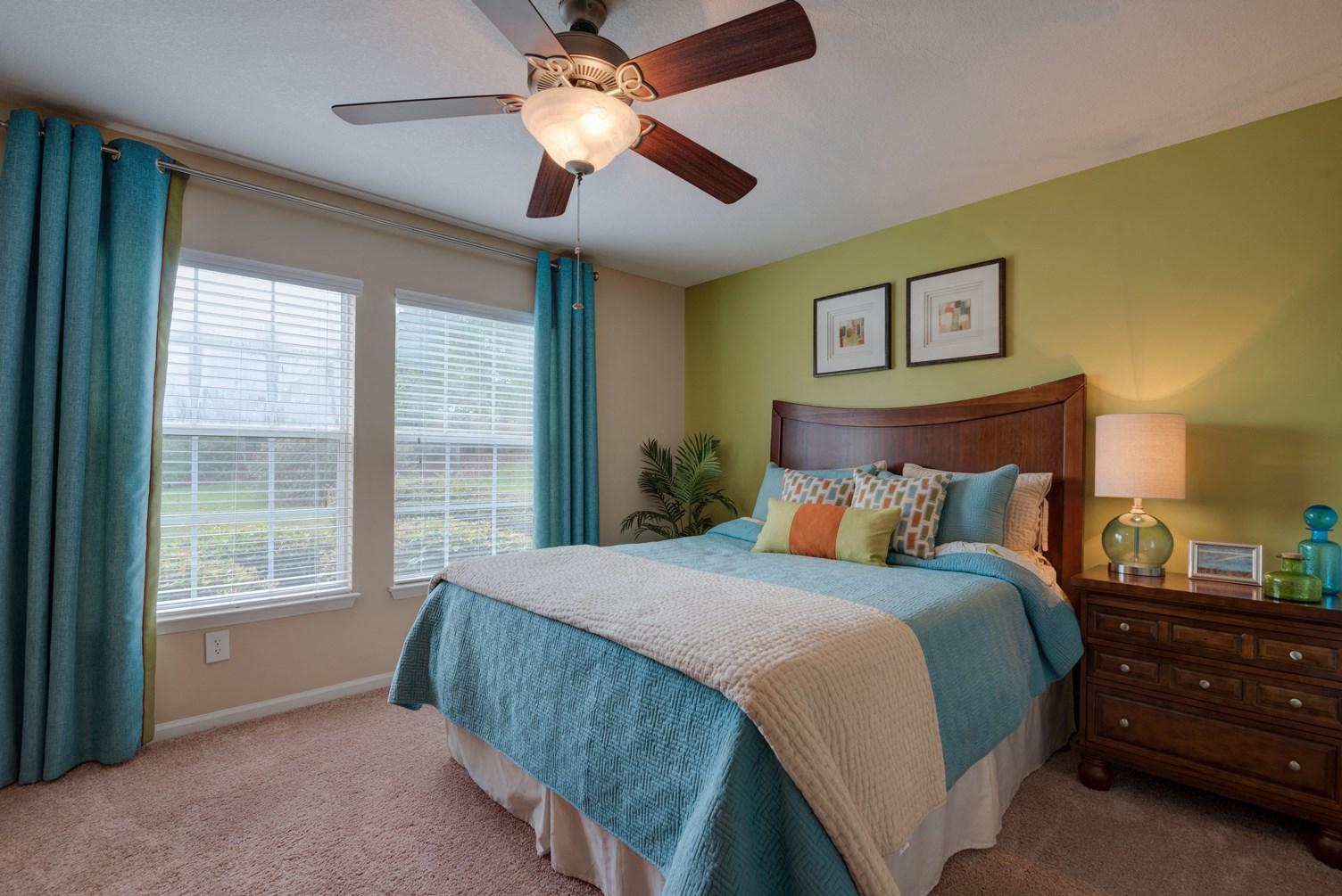 Bedroom at 150 Summit Apartments in Birmingham, AL