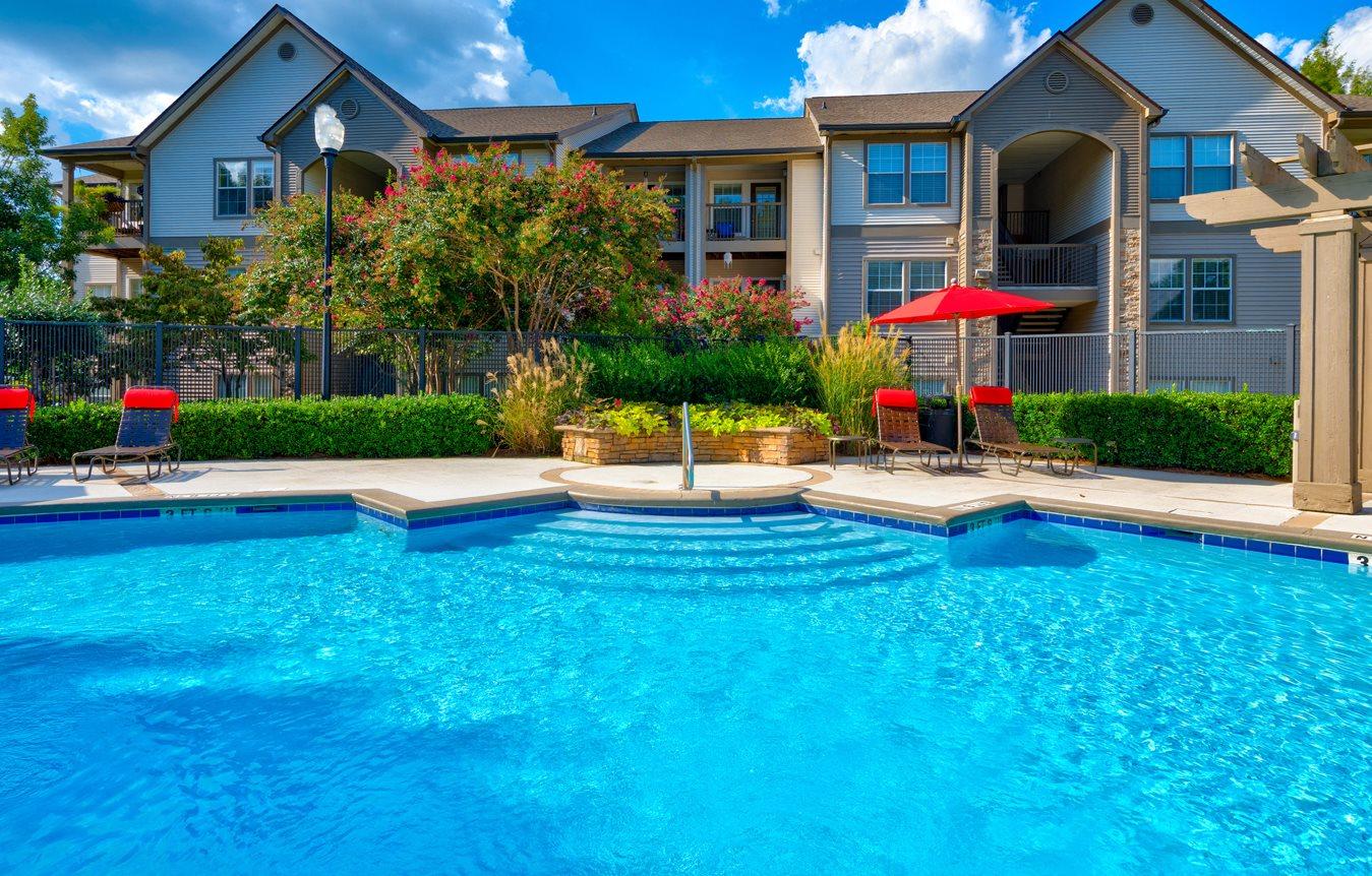 Pool at 150 Summit Apartments in Birmingham, AL