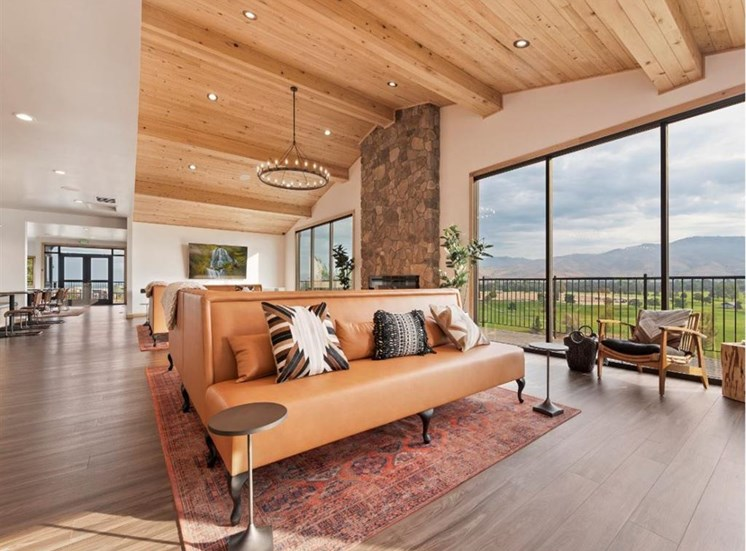 Clubhouse with a view at Columbia Village, Boise, ID, 83716