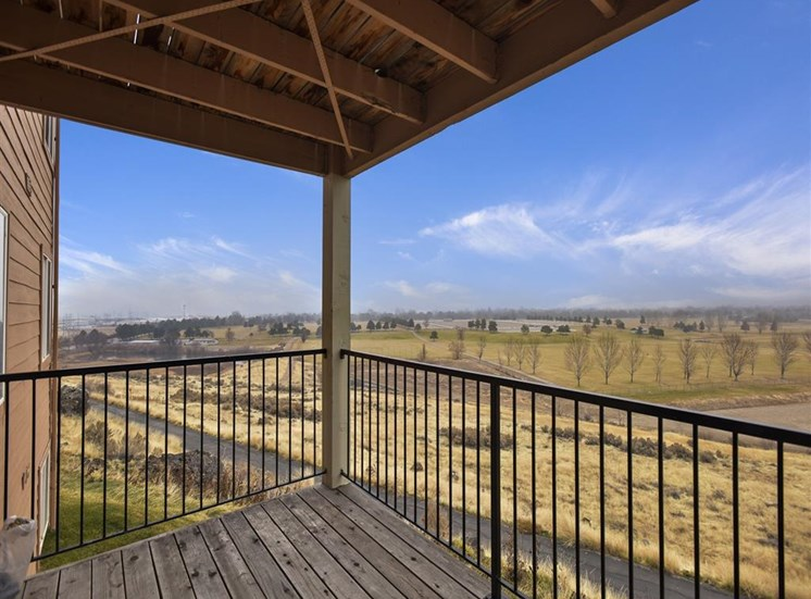View From Balcony at Columbia Village, Boise, ID
