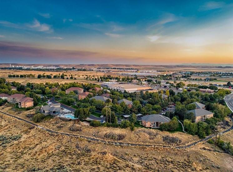 Boise view at Columbia Village, Boise, 83716