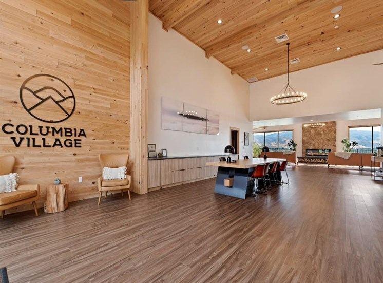 Clubhouse entrance at Columbia Village, Boise, 83716