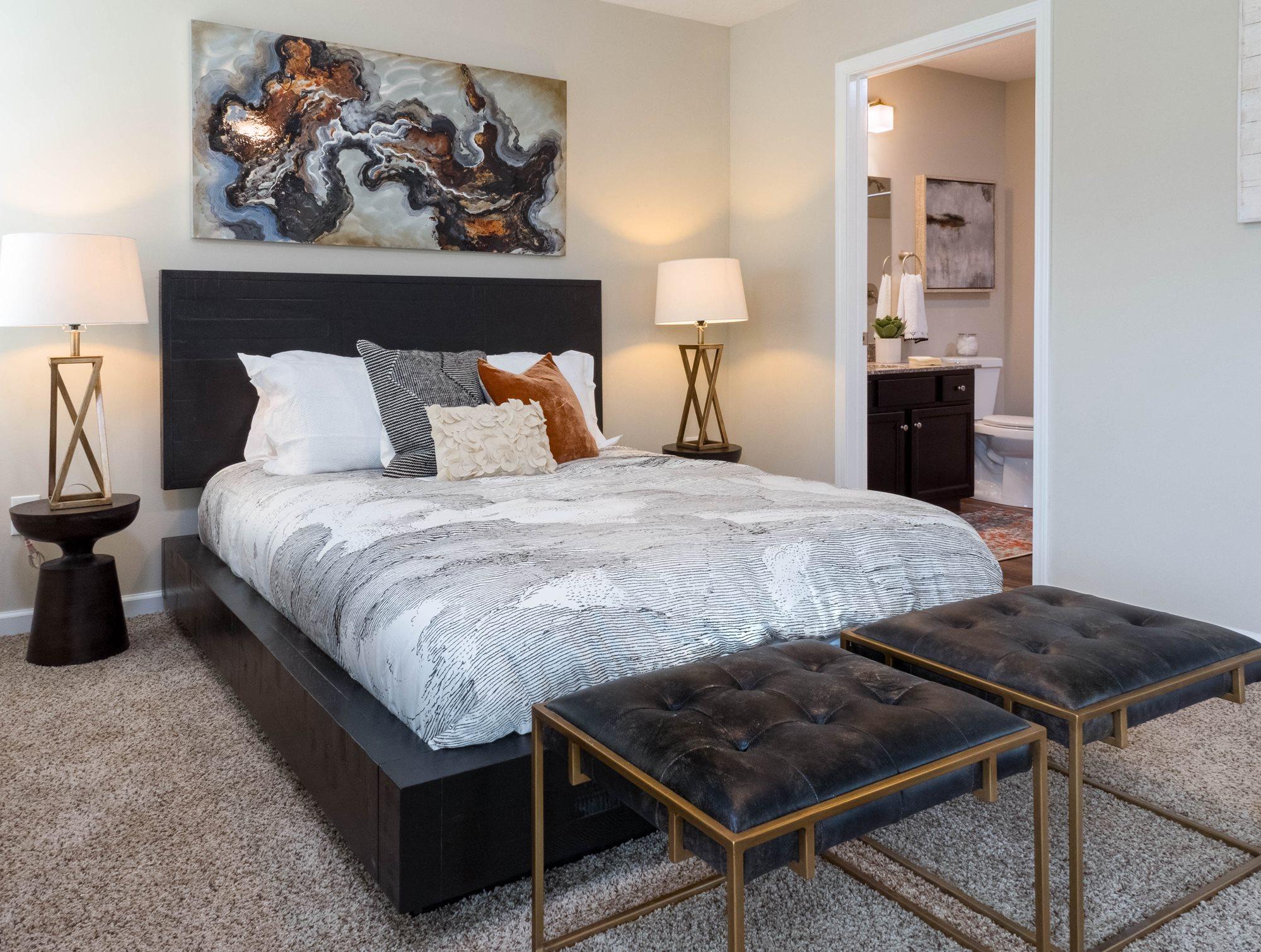 Brownsburg IN Apartment Rentals Redwood Brownsburg Master Bedroom