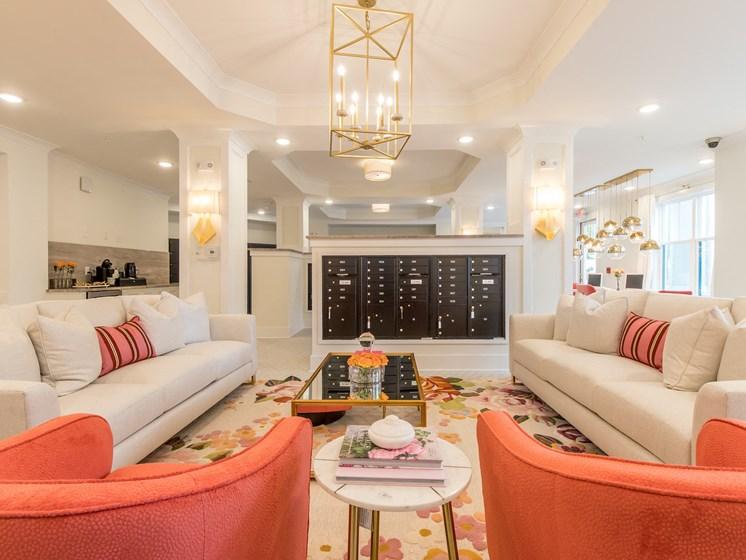 Living Room at The Roseberry, South Carolina
