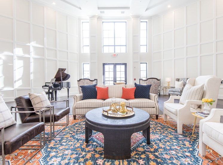 Community Lounge at The Roseberry, Columbia, SC