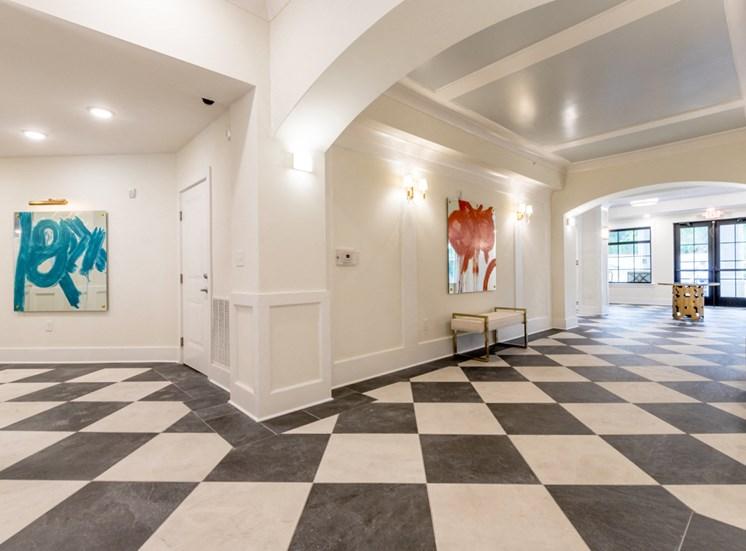 Lobby Hallway Decor at The Roseberry, South Carolina, 29223