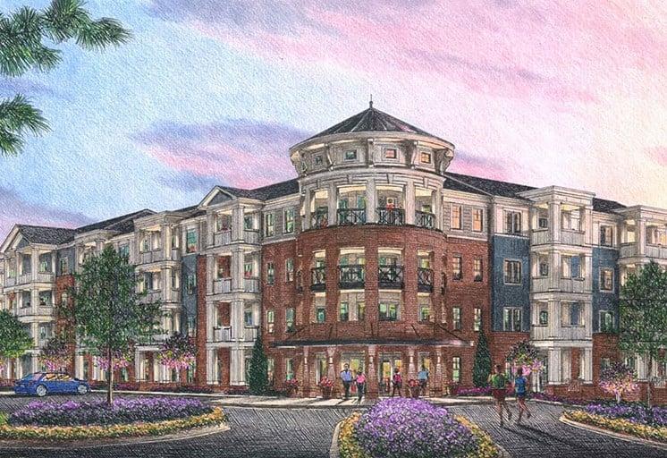 Apartment Complex Exterior at The Roseberry, Columbia, 29223