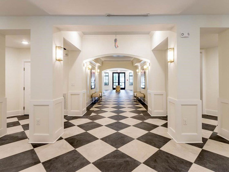Lobby With Modern Design at The Roseberry, Columbia