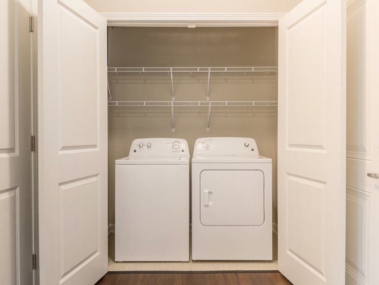 In-Unit Washer and Dryers at The Roseberry, South Carolina, 29223