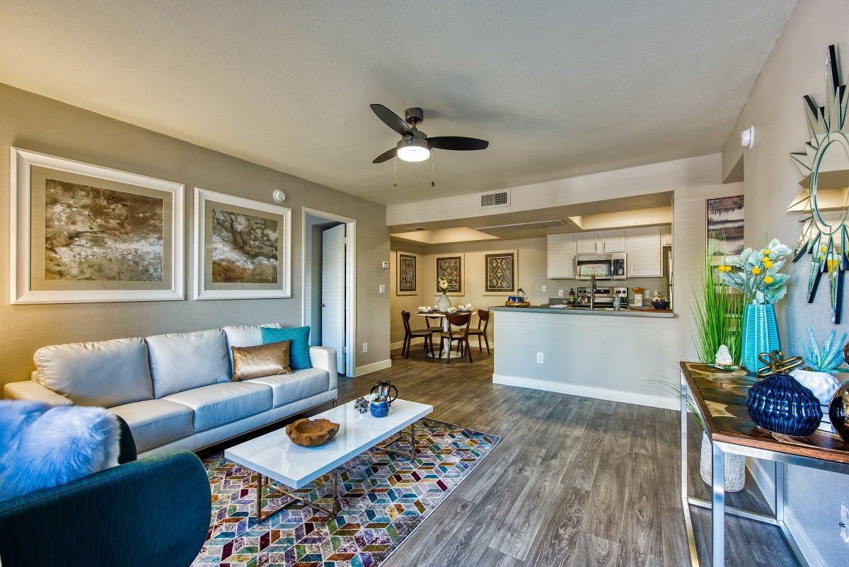 Spacious Living Area at The Nolan in Mesa, AZ
