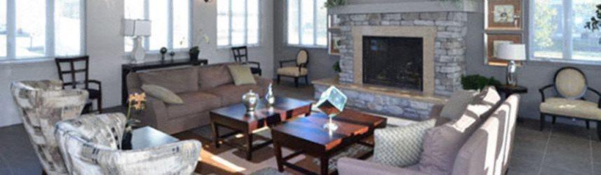 Community Lounge at Quail Run Apartments in Stoughton, MA 02072