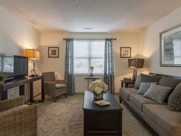 Large Windows and Spacious Interiors at Quail Run Apartments in Stoughton, MA