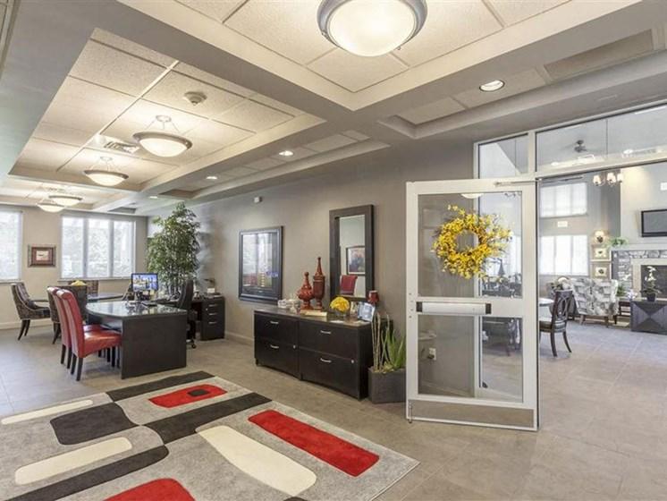 Office at Quail Run Apartments in Stoughton, MA