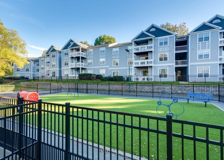 Dog Park, The Village Apartments, Raleigh NC