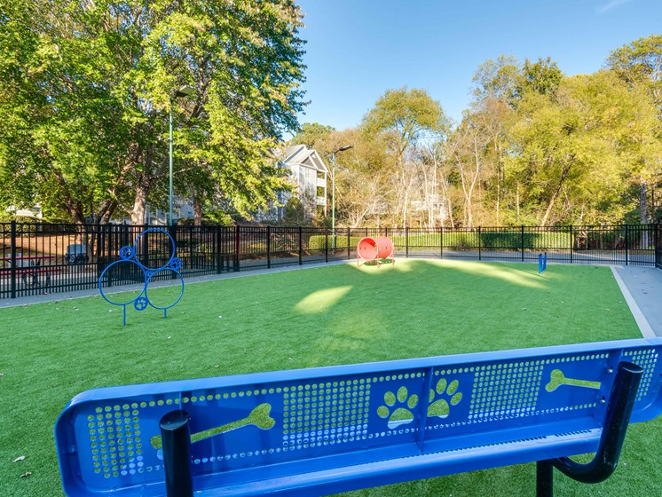 Dog Park at The Village Apartments, Raleigh, NC