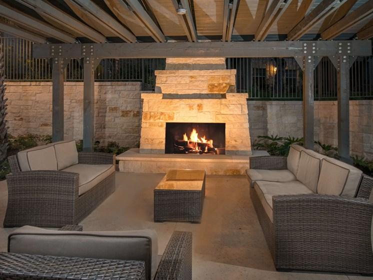 fireplace apartments in san antonio