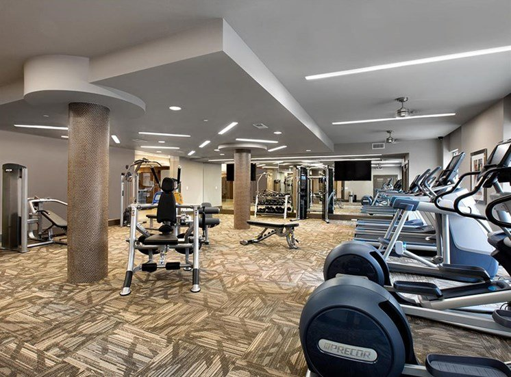 Venue Brookwood fitness center.