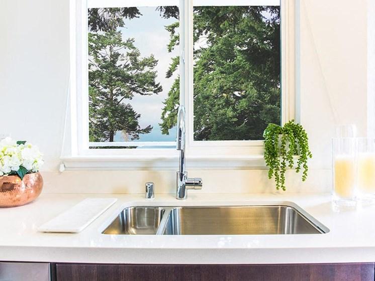 apartment kitchen sink