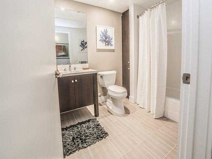 apartment interior bathroom