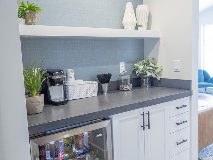 Community room + Community fridge