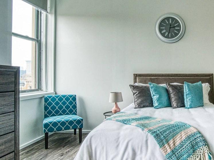 Cozy  Bedroom at Market District Lofts, Ohio, 44113
