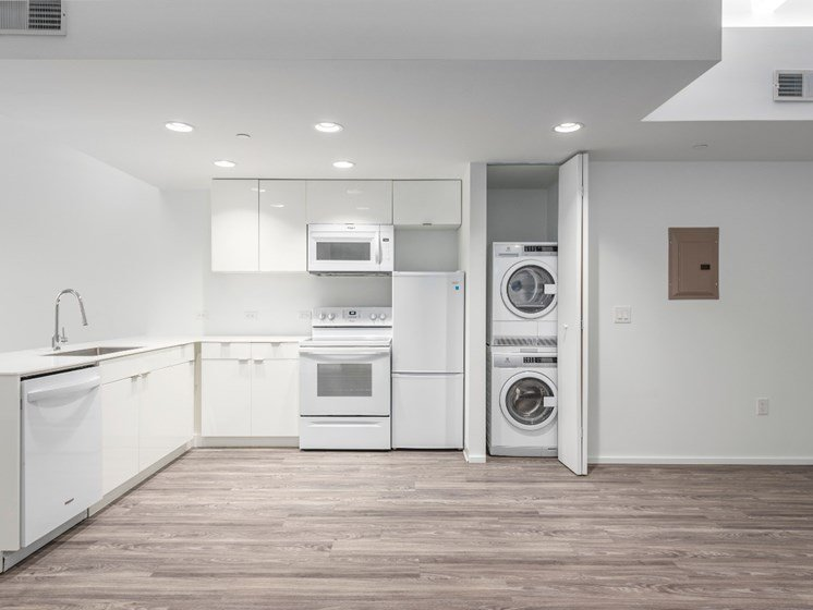 Washer And Dryer In Every Home at Market District Lofts, Ohio, 44113