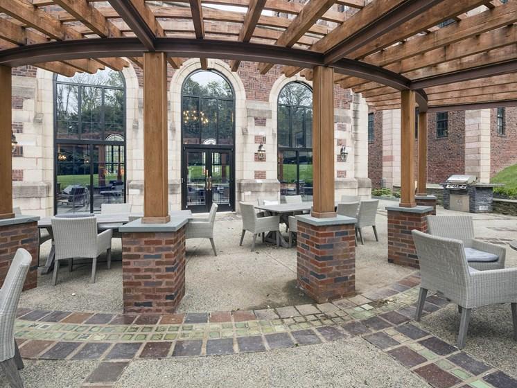 Alden Park patio.