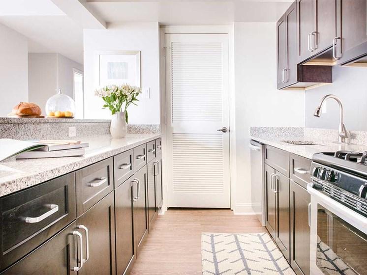 Alden Park kitchen.