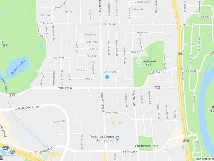 Carrington Drive Map