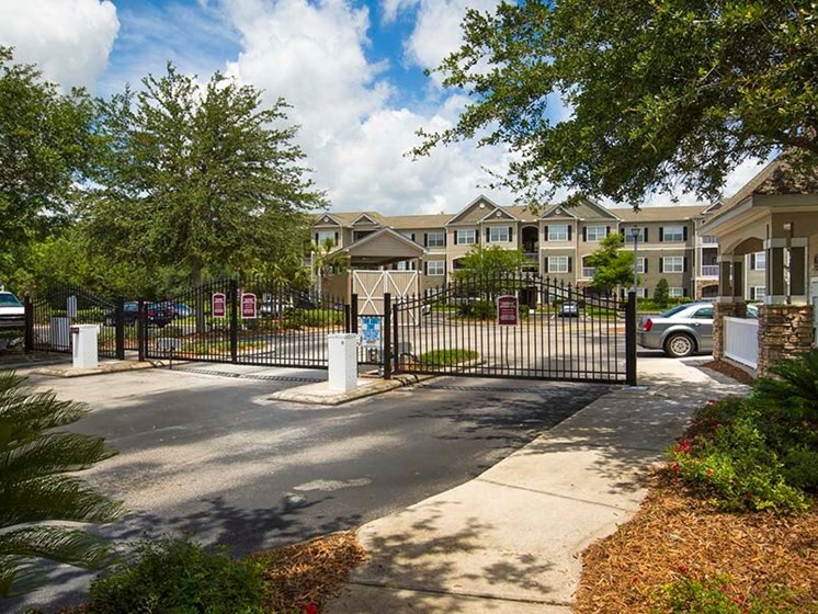 24 Hour Controlled Access Gates  at Reserve Bartram Springs, Jacksonville, FL, 32258
