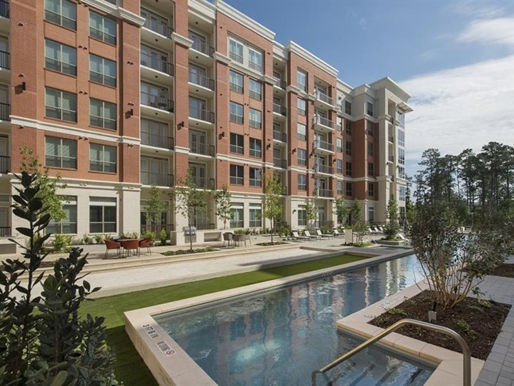 The Mark apartments near The Woodlands