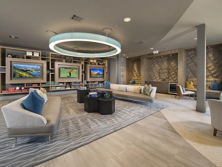 Inside The Mark at CityPlace luxury apartment community