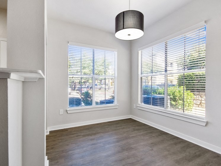 lots of natural light in apartment