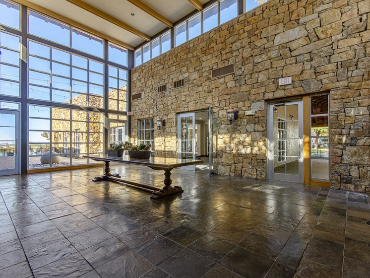 Expansive Community Clubhouse