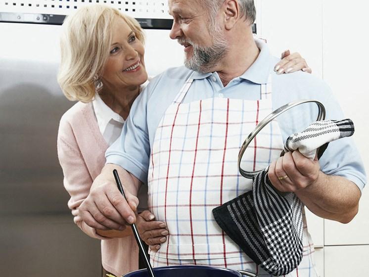 Seniors Cooking
