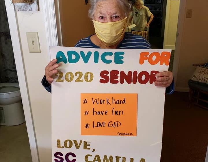 Advice For 2020 Seniors at Savannah Court of Camilla, Georgia, 31730